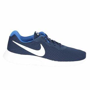 Nike Tanjun Sneaker Midnight Navy/Game Royal/White -Multiple Sizes-FREE SHIPPING
