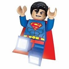 Lego Superman DC Comics Superhéroes LED Linterna LÁMPARA MESILLA ledlite