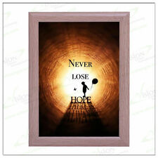 SNAP FRAME  A1A2 A3 A4  Timber Colour  Aluminum Snap Poster Click Picture Holder