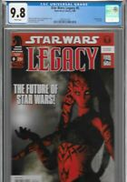 Star Wars Legacy 0 CGC 9.8 RARE 1st Print VARIANT Darth Talon Dark Horse 2006