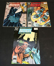 1989 The Many Deaths of Batman #433-435 Set (9.0-9.2)
