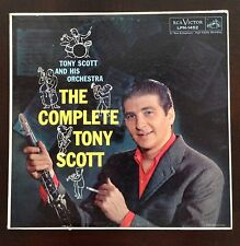 The Complete Tony Scott Orchestra LP Records Vinyl Album LPM-1452