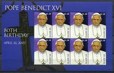 St. Kitts 2007 Papst Benedikt Pope Benedict Religion 1002 Kleinbogen MNH