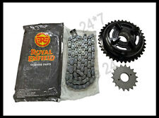 Royal Enfield Complete Chain Sprocket Assembly For Classic 500cc Model #597462