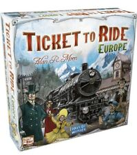 Ticket to Ride Europe Days of Wonder DOW7202 Board Game New Sealed Christmas