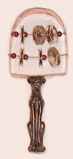 Egyptian Musical Instrument Bast Bastet Ceremonial Rattle Copper Sistrum #BS