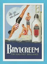 ROBERT  OPIE  ADVERTISING  POSTCARD  -  BRYLCREEM   (D)