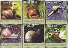 Mosambik 2596-2601 postfris MNH 2002 Wereld van Marine