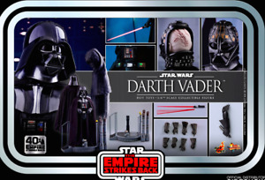Hot Toys Star Wars ESB 40th Anniversary DARTH VADER 1/16th Scale Figure MMS572 -