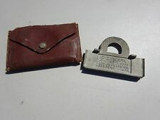 Butt Gage Marker by E-Z Mark 3½� Vintage Tool With Case