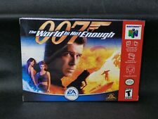 Brand New 007 James Bond World Is Not Enough Nintendo 64 USA N64