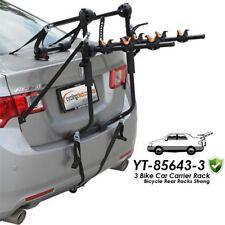 3 Bike Car Carrier Rack Bicycle Rear Racks Strong