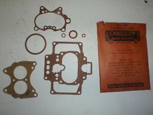 NOS Carburetor Gasket Kit Set 49 50 Kaiser, 48-51 Frazer Carter WCD 2bbl Carb