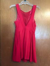 ASOS/Red V Backless Dress/Prom/Homecoming/Formal