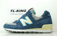 New Balance M574BOX American Tall Tale Pack Light Grey Blue Made In USA $160 GH