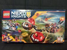 LEGO NEXO KNIGHTS 70314,70321,70333,70334,70335 USED COMPLETE w/box