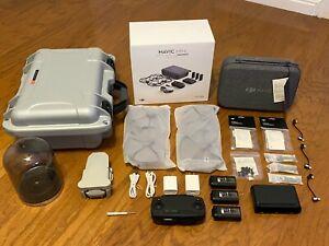 MANY EXTRAS!! DJI Mavic Mini Fly More Combo Drone - Hard Case - extra Batteries