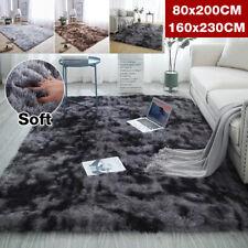 Soft Fluffy Rugs Anti-Skid Shaggy Area Rug Dining Room Deco Carpet Floor Mat