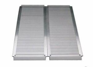 Folding Aluminium Suitcase Wheelchair Ramp - 4 Foot (120cm)