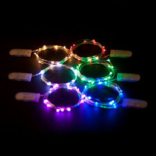Submersible Battery Operated 20 LED String Light Floral Vase Wedding Party Decor