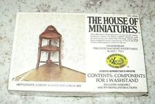 Doll house Furniture House of Miniatures  Hepplewhite Corner Washstand new i