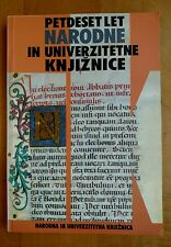 50 years National and University Library of Slovenia In Slovene 1997