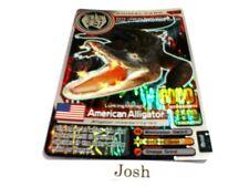 Animal Kaiser Evolution Version Ver 6 Silver Card (A063: American Alligator)