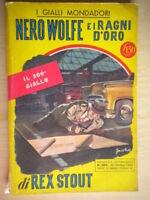 Nero Wolfe e i ragni d'oroStout RexMondadori1954 giallo300fletcher 42