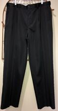 Champions Tour Golf Black Pleated Dress Pants Men's 38W 32L