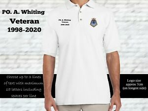HMS Belfast Personalised Polo Shirt