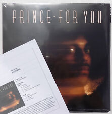 PRINCE LP pour vous 2016 Re-issue on 140 G Vinyl + PROMO Info Sheet NEW