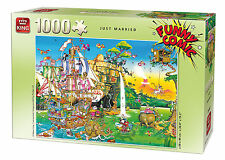 1000 pezzi DIVERTENTE FUMETTO Capers Puzzle - JUST MARRIED 05224