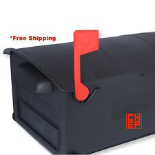 Replacement Flag for Rubbermaid Large Capacity Mailbox-Snap Fit,Plastic,Red