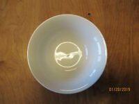 """Oneida CONTINUUM WHITE Soup Cereal Bowl 7"""" Embossed Rings 1 ea   4 available"""