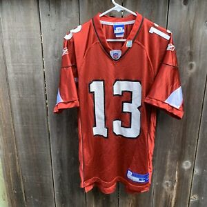 Vintage KURT WARNER Arizona Cardinals Red Reebok  Authentic Jersey Adult Size S