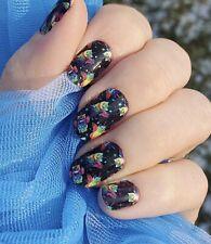 Color Nail Polish Strips, 16ct. Custom Classy Claws & Ccn. Caticorn