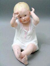 Heubach Piano Baby Bisquit Porzellan Figur Figure Figurine um 1882 - 2