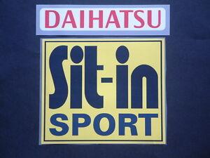 "PATCH SPONSOR ufficiale ""SIT IN SPORT+DAIHATSU"" ATALANTA 2006-2010 official"