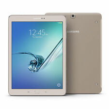 """Samsung Galaxy S2 Tablet SM-T810 9.7"""" 16GB WiFi 8MP Cam 3GB Ram Android - Gold"""