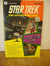 Star Trek, The Enterprise Logs, Golden Press Comics 11185  Used