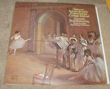 Glazunov Scenes From de Ballet Poeme Lyrique Cortege Solennel Meloydia LP