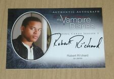 2014 Vampire Diaries Season 3 oncard autograph Robert Ri'chard Richard Jamie A21
