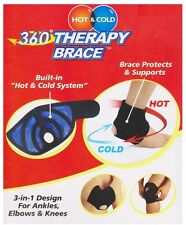 ACU-LIFE 3 IN 1 BRACE HOT & COLD THERAPY SUPPORT FOR KNEE, ELBOW AND ANKLE