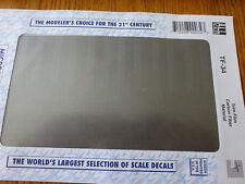 Microscale Decal #TF-34 / Trim Film /Size-7-1/4 x 4-1/2-Carbon Fiber Material(BK