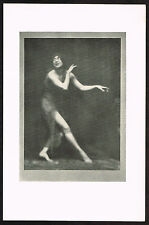 1910s Antique Dancer Constance Stewart-Richardson Arnold Genthe Photo Print