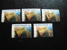 PAYS-BAS - timbre yvert et tellier n° 1635 x5 obl (A31) stamp netherlands