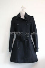 Trench Dry-clean Only Solid 100% Cotton Coats & Jackets for Women