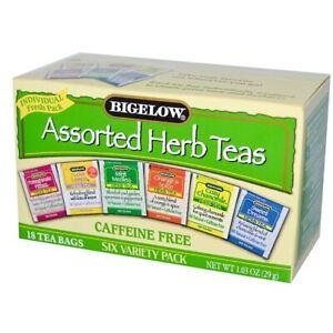 Bigelow Assorted Herbal Tea Variety Pack