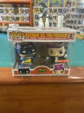Funko POP! DC Heroes Batman VS. The Penguin 2-pack TARGET EXCLUSIVE Classic
