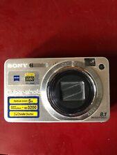 Sony Cyber-shot DSC-W150 8.1 Mega Pixel Digital Camera - Silver, Circa 2008